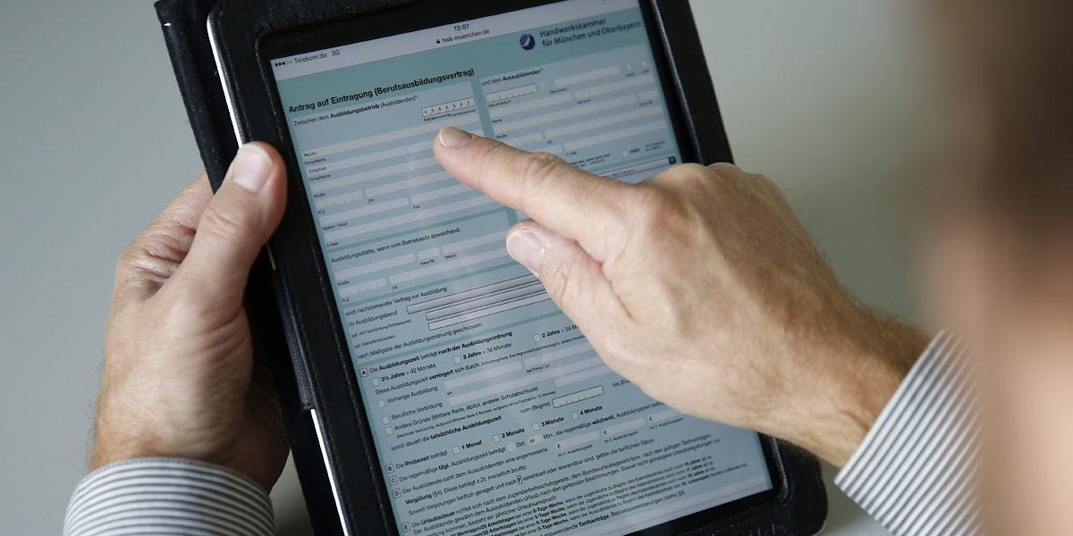 Formulare Downloads Für Auszubildende Handwerkskammer Für