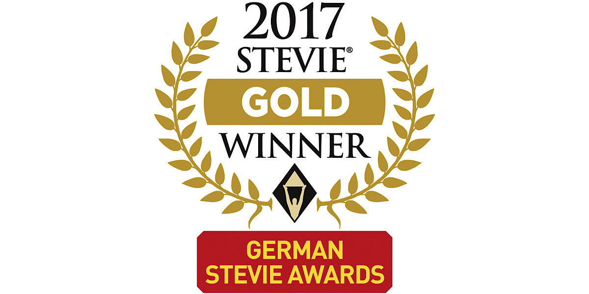 Stevie Award Gold Winner