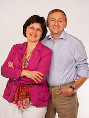 Blogger Margit und Heribert Niedermaier