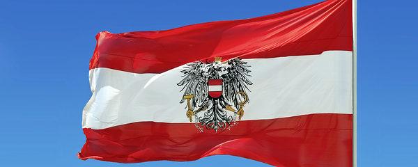 Flagge, Österreich, wehen, Wind, Österreichische Flagge, rot, weiß, National, Symbol, blauer Himmel, Fahnenmast emblem, fabric, flag, austria, austrian, national, red, white, sky, symbol, waving, wind, clear, sky, blue, pole
