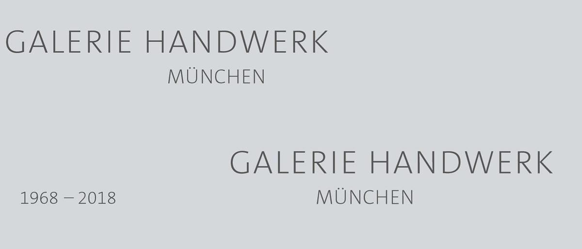50 Jahre Galerie Handwerk Munchen Handwerkskammer Fur Munchen Und Oberbayern
