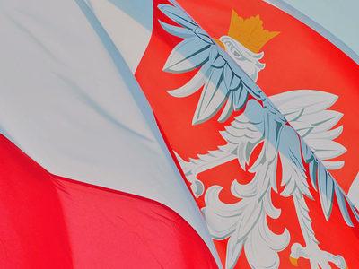 Flagge Fahne Polen